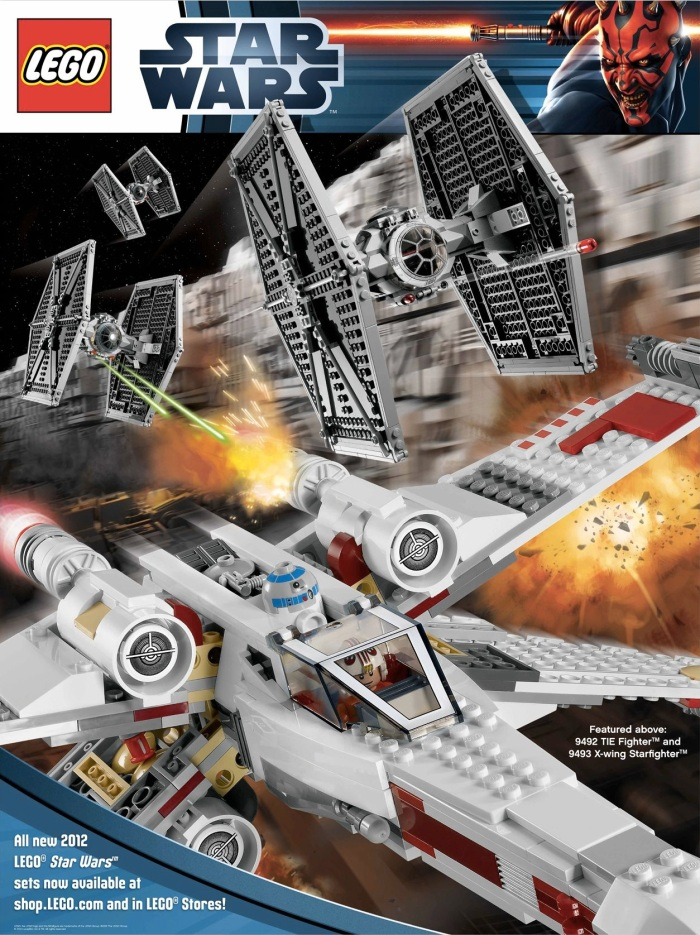 LEGO Star Wars Poster 2012 Included when pre ordering in the US